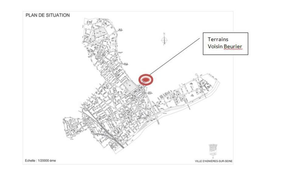Asnières consultation Voisin Beurier 072016 situation des terrains