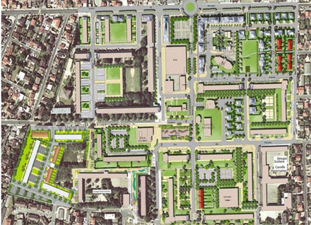 Essonne : modification d'un projet de rénovation autour d'un Atac