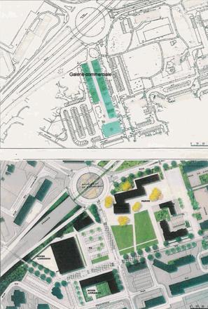 Finistère : reconstruction complète d'un centre commercial