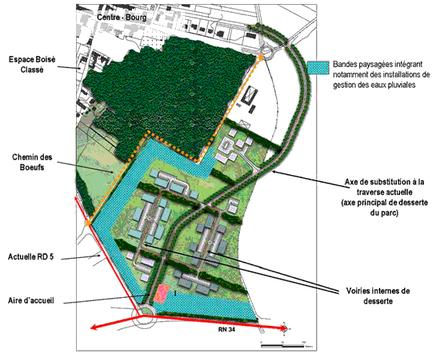 Seine-et-Marne : concession de 12 hectares d'activités en vitrine sur la RN34