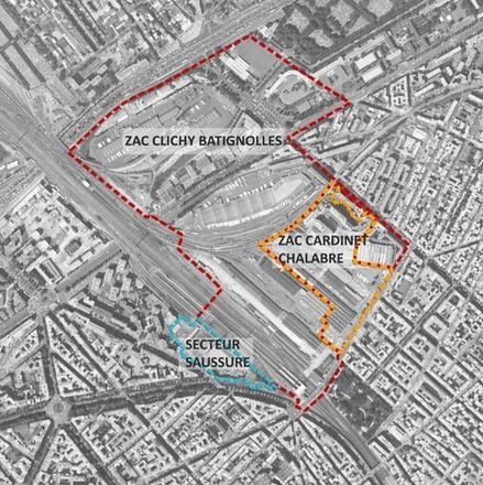 Paris : le secteur Saussure rentre en phase aménagement