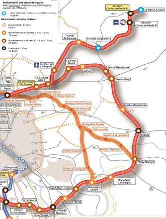 La société du Grand Paris prépare les acquisitions foncières pour tout le nord de la ligne rouge
