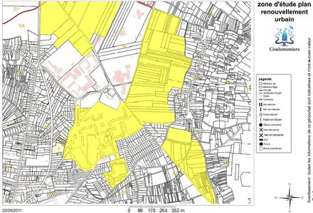Coulommiers : programmation urbaine de la transformation du quartier des Templiers