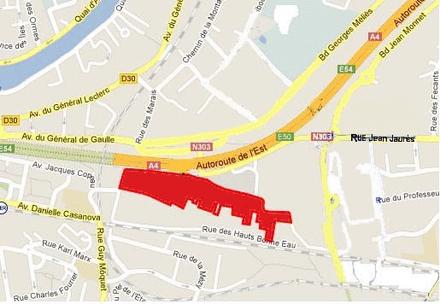 Val-de-Marne : concession de 5 hectares de commerces aux Simonettes Nord