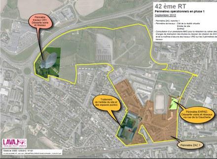 Laval  : études de projet urbain quartier gare et quartier de la Transmission