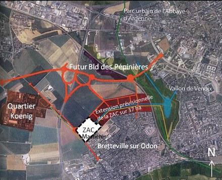 Caen : missions d'urbanisme pour nouveau quartier