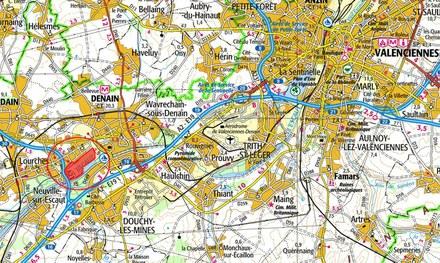 Denain : études pré-opérationnelles sur l'ancien site Usinor