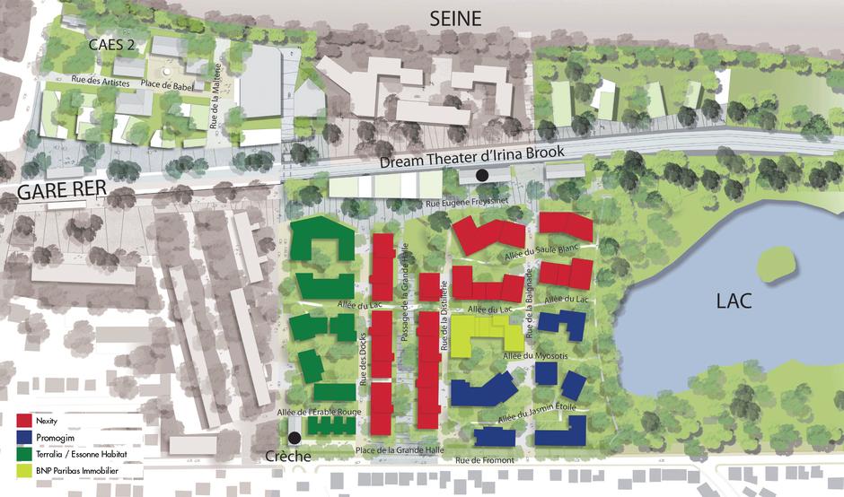 Ris-Orangis : cession de 2 770 m² de droits à construire dans le Dock des Alcools
