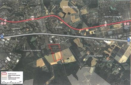 Marne-la-Vallée : une ZAC de 44 hectares en projet pour de l'activité