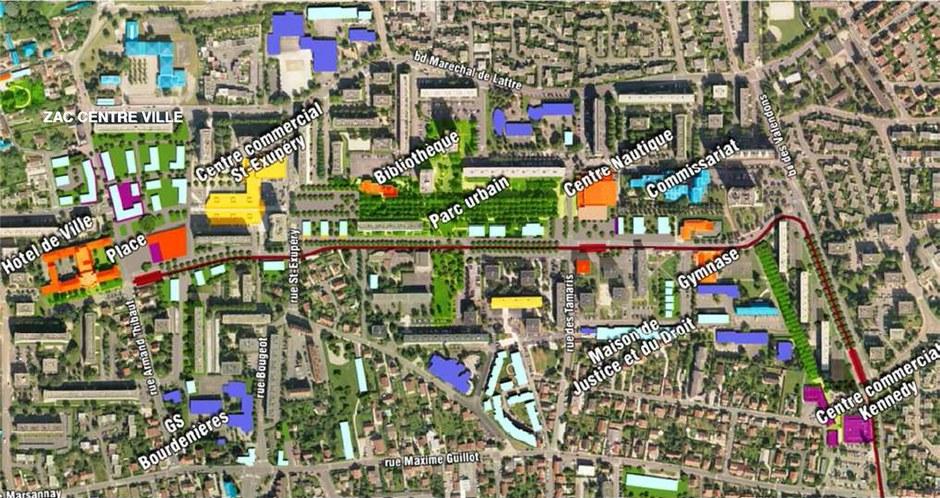 Dijon : une étude urbaine sur le secteur Saint-Exupéry de Chenôve
