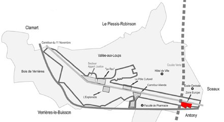 Châtenay-Malabry : la SEM 92 prépare la deuxième tranche de la zone de l'Europe