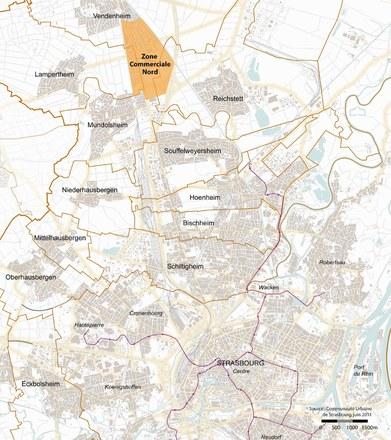 Strasbourg : restructuration de la Zone Commerciale Nord