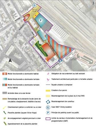 Hauts-de-Seine: deux PUP autour de la gare de Levallois-Perret