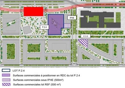 Paris-Saclay : cession de charges foncières pour 14 000 m² SDP dans le quartier de Polytechnique