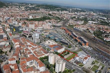 Saint-Etienne : cession de charges foncières sur la ZAC Châteaucreux