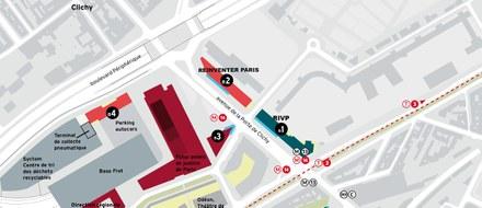 Paris / Clichy-Batignolles : un front urbain en deux lots sur l'avenue Porte de Clichy