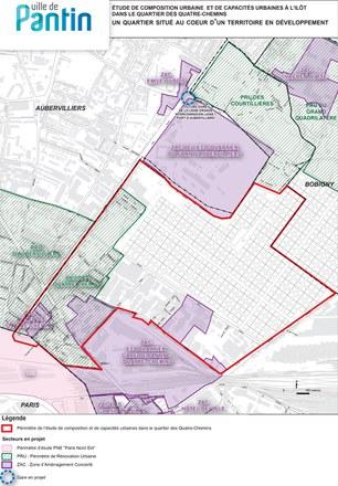 Pantin : un nouveau plan directeur pour le quartier des Quatre-Chemins