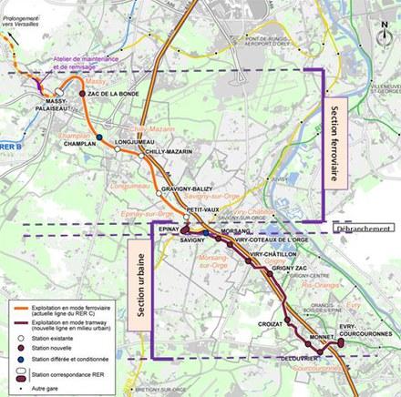 Essonne : le tram-train Massy-Evry prépare sa mise en travaux