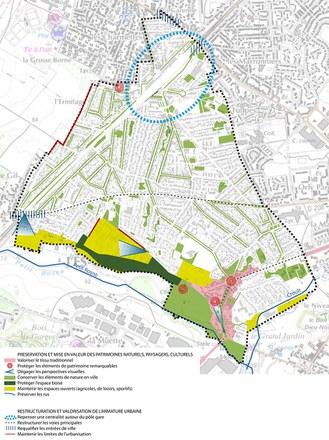 Val d'Oise : le quartier-gare d'Arnouville bénéficie d'une dérogation au plan d'exposition au bruit