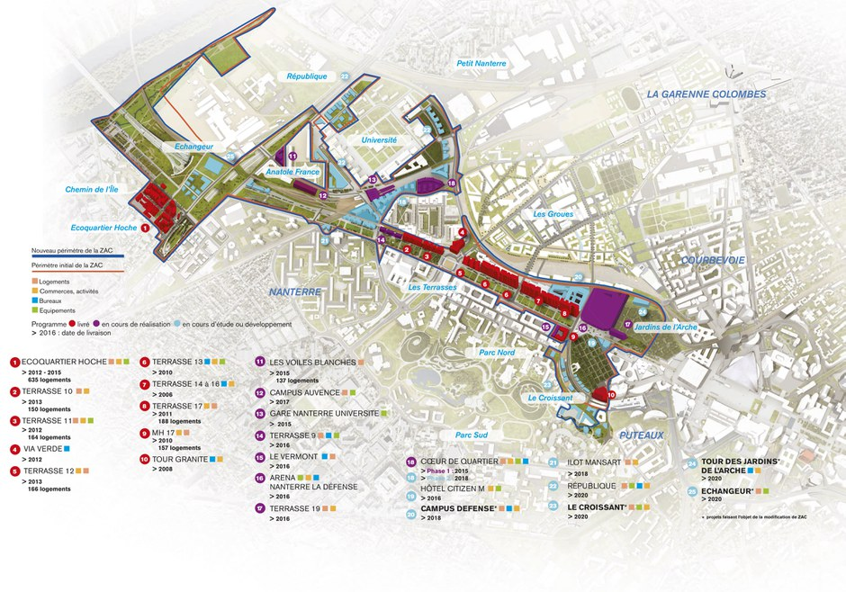 Paris la Défense : la ZAC Seine Arche s'apprête à grandir