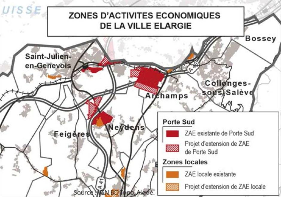 Haute-Savoie : un écoparc de 20 hectares à la porte sud de Genève