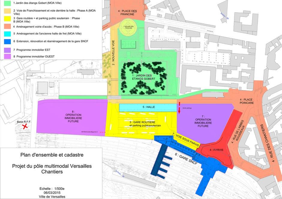 Versailles : lancement de l'appel à projets sur l'ancienne Halle Fret de la gare