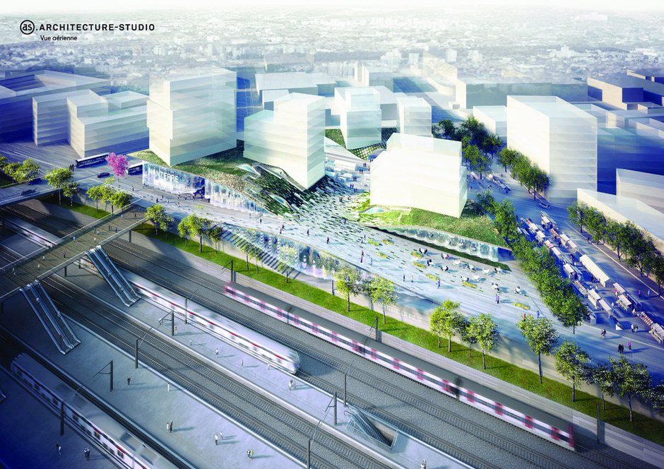 Grand Paris Express : Architecture Studio va réaliser la gare emblématique de Nanterre la Folie