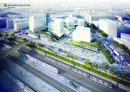 Grand Paris Express : Architecture Studio va réaliser la gare emblématique de Nanterre la Folie