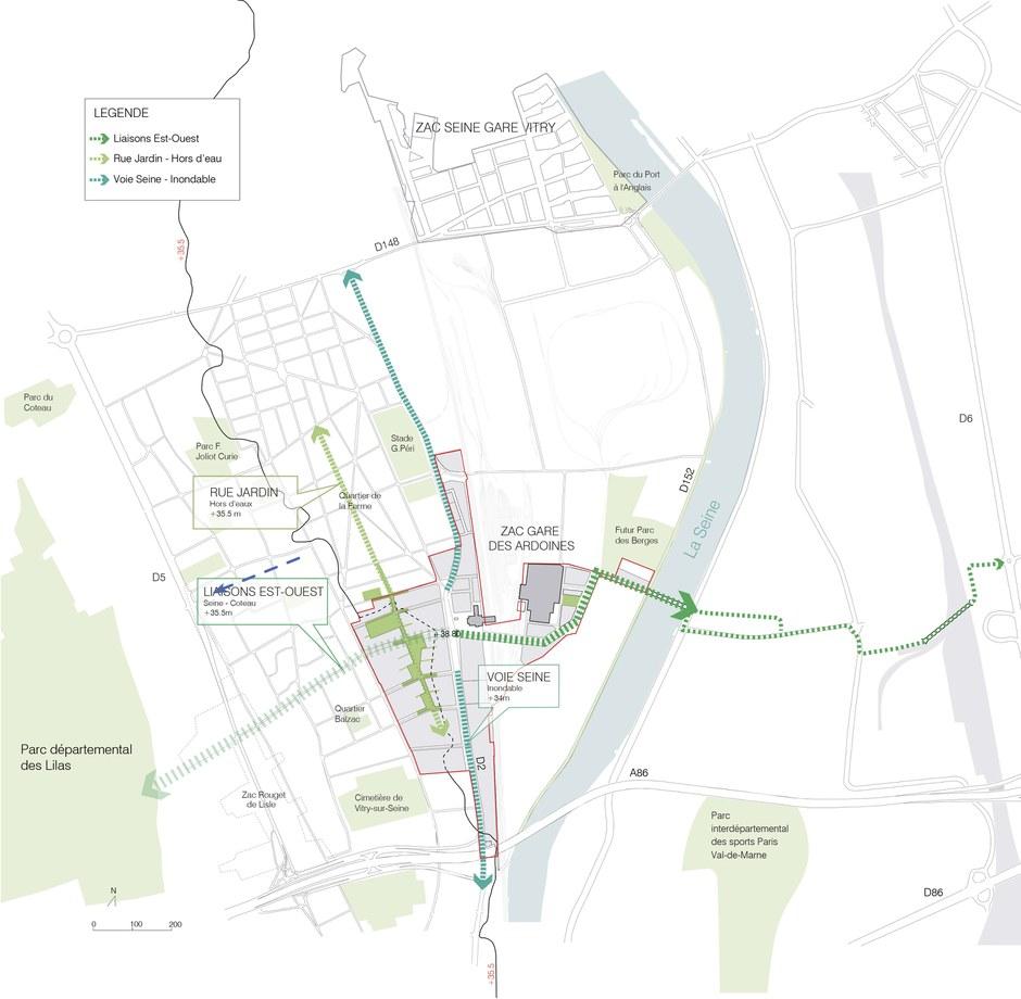 Val-de-Marne : les travaux de la ZAC Gare Ardoines débuteront en 2017