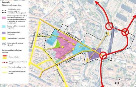 Roanne : lancement de la SEMOP d'aménagement du projet Foch-Sully