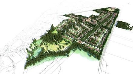 Seine-et-Marne : 400 logements diversifiés sur une terre agricole