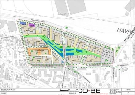 Grand Paris Seine et Oise : Citallios reconduit l'agence CoBe pour le grand projet urbain de Poissy