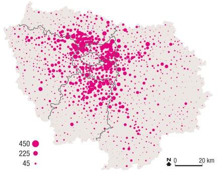 Ile-de-France : frémissement des marchés fonciers