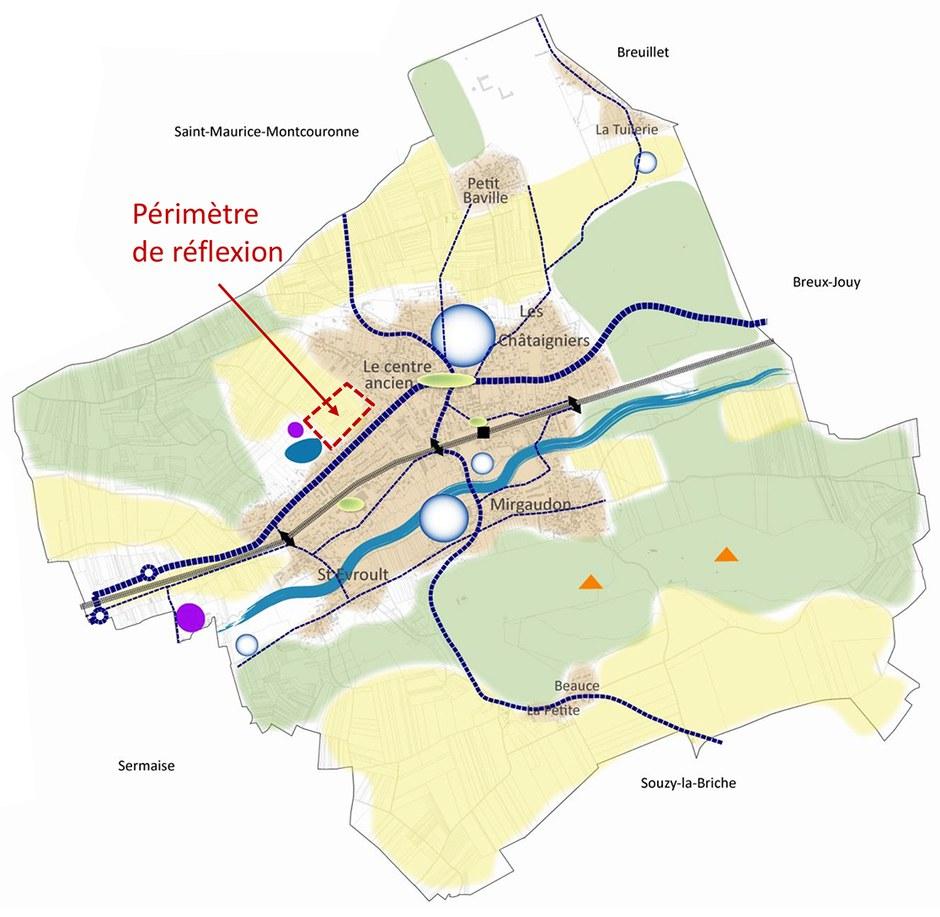 Essonne : Saint-Chéron étend son centre-ville sur les Champs Carrés