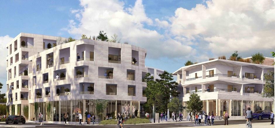 Bordeaux Métropole : BNP va finaliser le centre-ville de Pessac