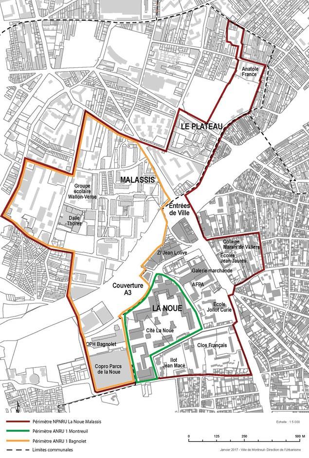 Montreuil - Bagnolet : une nouvelle approche pour la rénovation urbaine du secteur Malassis - La Noue