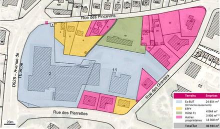 Yvelines : Magnanville transforme son entrée de ville en quartier mixte