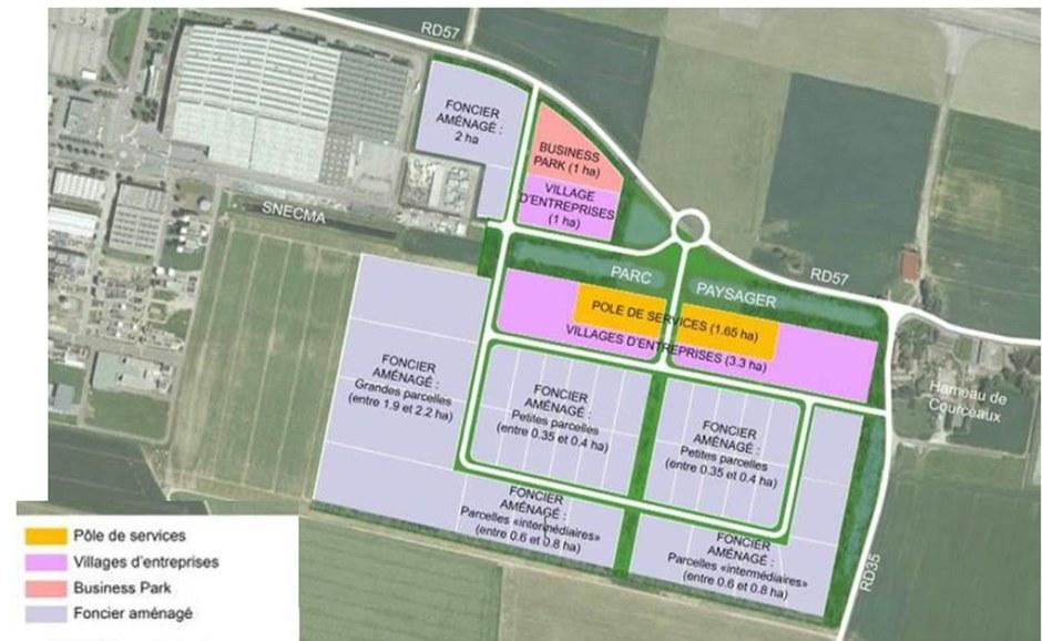 Seine-et-Marne : le parc d'activités de la zone aéronautique de Melun-Villaroche trouve son urbaniste