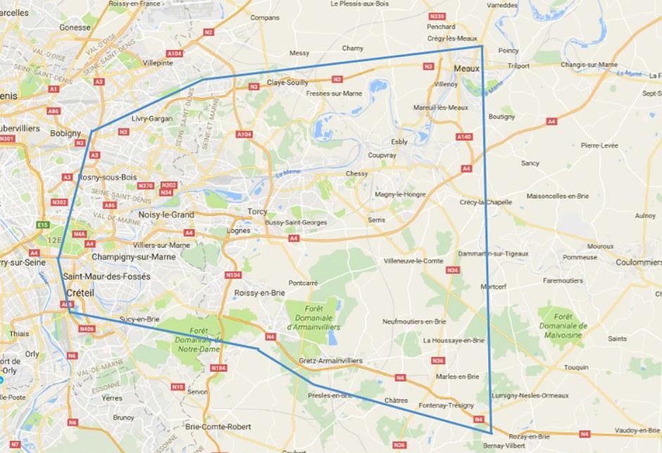 L'État pointe l'impact sur les routes du développement de l'est francilien