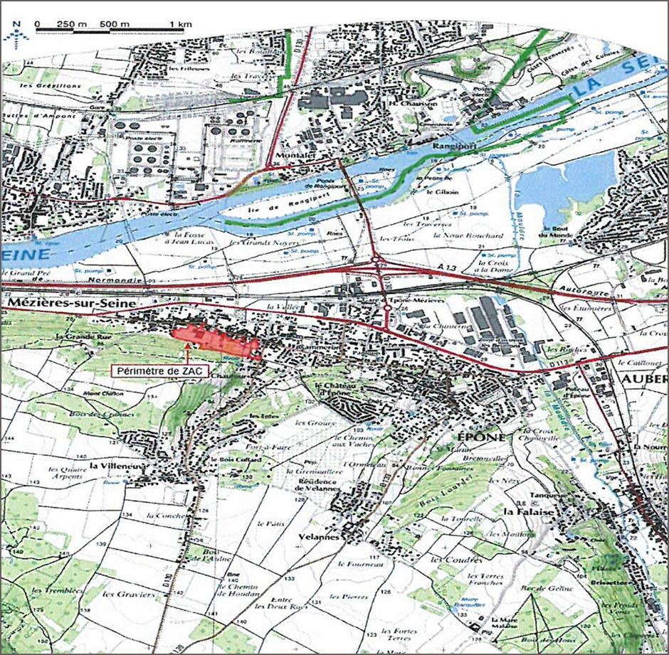 Yvelines : Urban Act en charge d'une extension urbaine à concevoir entre vergers et forêt
