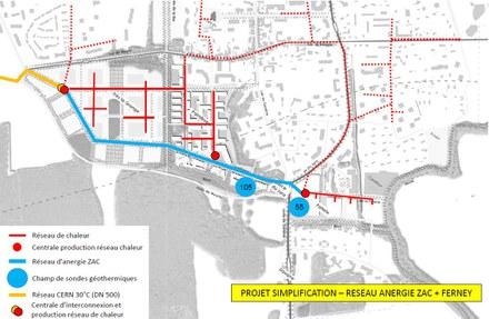 Grand Genève : une SEMOP pour le réseau d'anergie de la ZAC Ferney - Genève Innovation