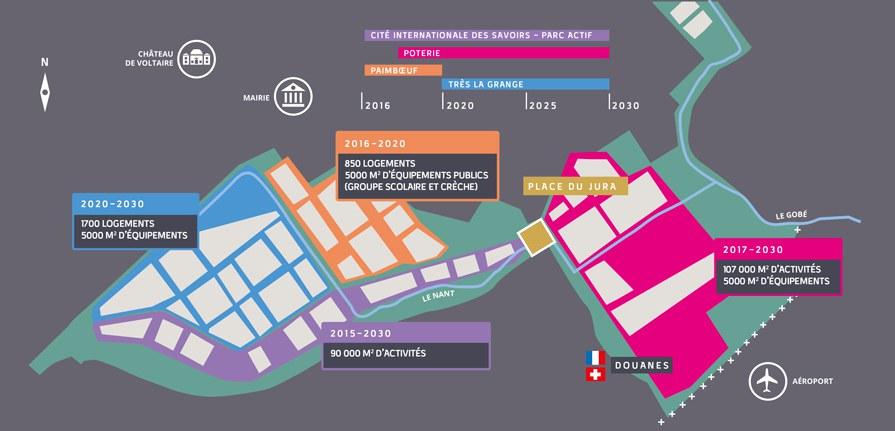 Grand Genève : la ZAC Ferney-Genève Innovation se dote d'un nouvel urbaniste en chef