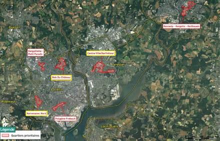Lorient compte sur AIA Territoires pour préciser ses ambitions NPNRU pour deux quartiers