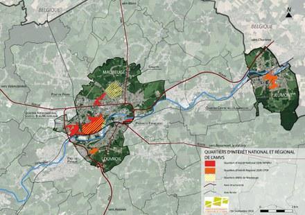 Ateliers 2/3/4 prépare une opération générale de renouvellement urbain pour cinq quartiers de l'agglomération de Maubeuge