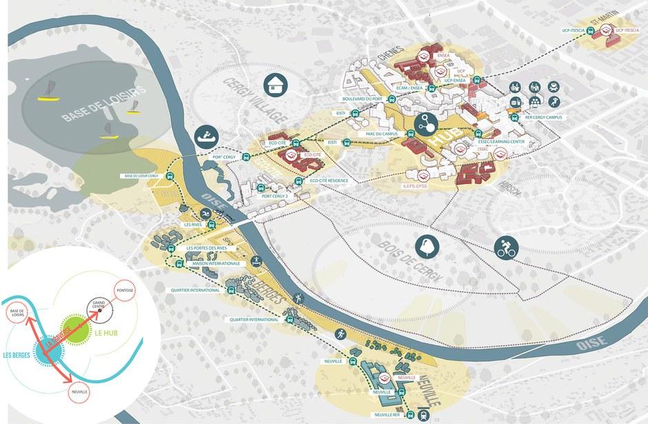 Cergy-Pontoise : un pas de plus pour le Campus International