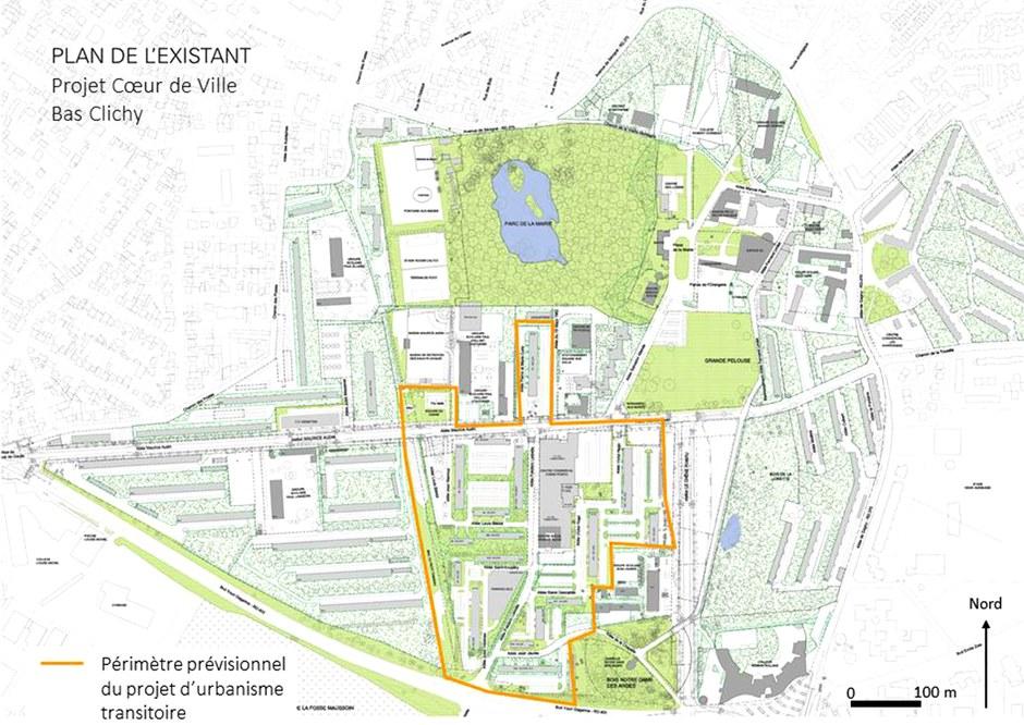 """L'EPFIF lance un premier appel pour un projet d'urbanisme transitoire """"léger"""" dans le Bas-Clichy"""