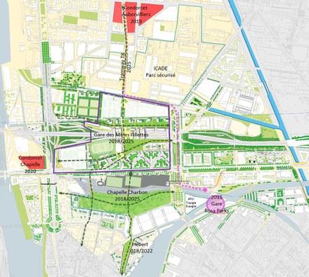 Réinventer Paris : le projet du Triangle Eole Evangile au stade du permis de construire