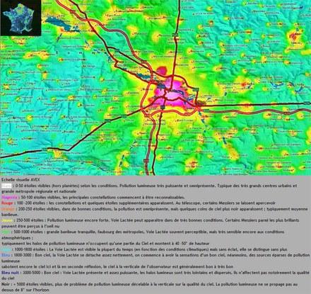 Amiens s'inquiète de sa déperdition lumineuse
