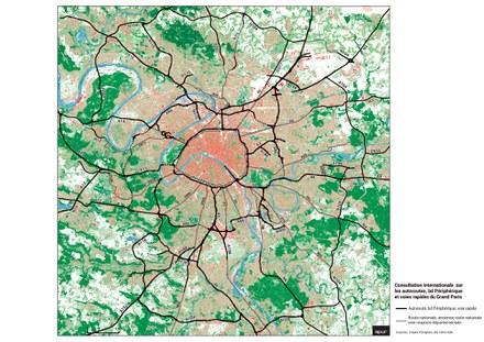 Grand Paris : quatre équipes retenues pour la consultation internationale sur le devenir du périphérique et des autoroutes