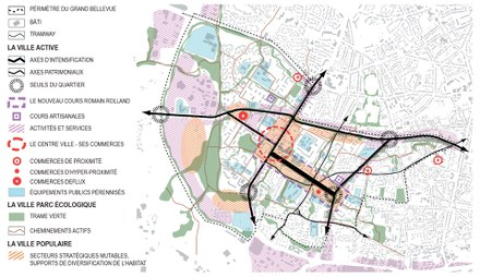 Nantes / Saint Herblain : Devillers & Associés remporte la maîtrise d'œuvre urbaine pour le quartier du Grand Bellevue